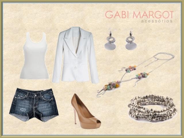 Look com Bijuterias Gabi Margot